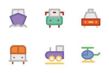 Transport 2 Icon Pack