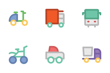 Transport 3 Icon Pack
