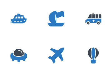 Transport Icon Pack