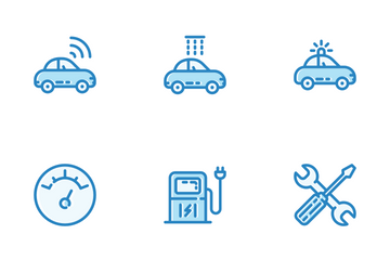 Transport Color Icon Pack