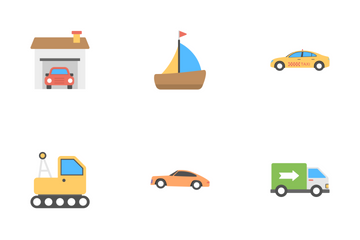 Transport Flat Icons 1 Icon Pack