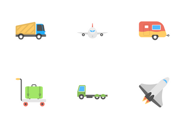 Transport Flat Icons 2 Icon Pack
