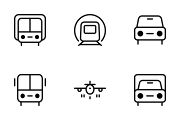 Transport Icons Icon Pack