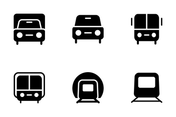 Transport Vector Icons Icon Pack