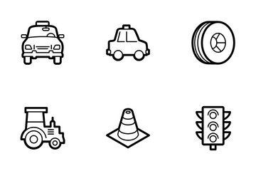 Transport Vol 5 Icon Pack