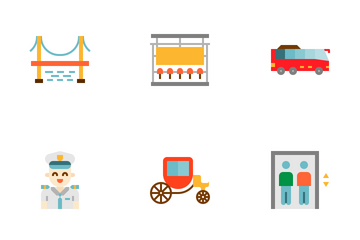 Transportation Icon Pack