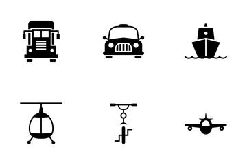 Transportation Icon Pack