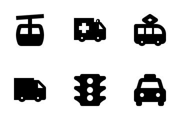 Transportation And Vehicle Icon Pack