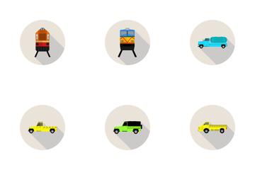 Transportation Vol 1 Icon Pack