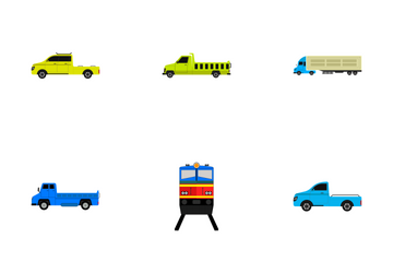 Transportation Vol 13 Icon Pack