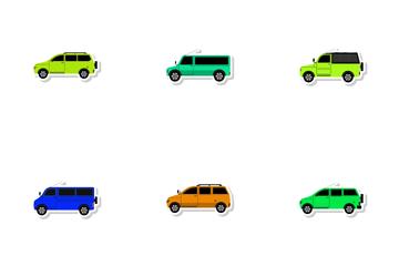 Transportation Vol 17 Icon Pack