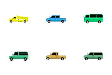 Transportation Vol 21 Icon Pack