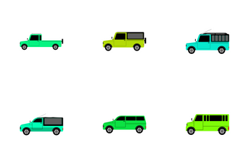 Transportation Vol 22 Icon Pack