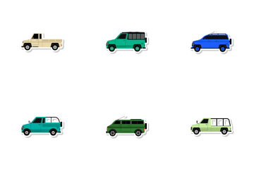 Transportation Vol 7 Icon Pack
