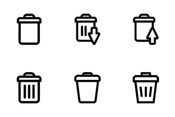 Trash Icon Pack