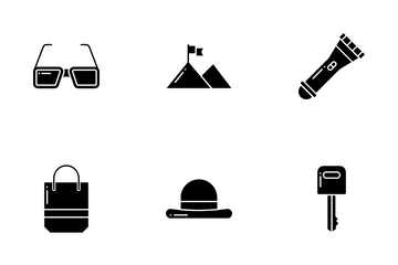 Travel Accessories Icon Pack