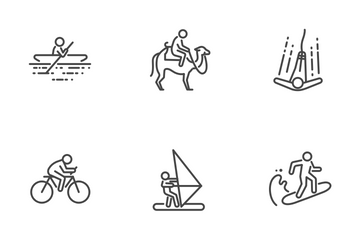 Travel Activities Icon Pack