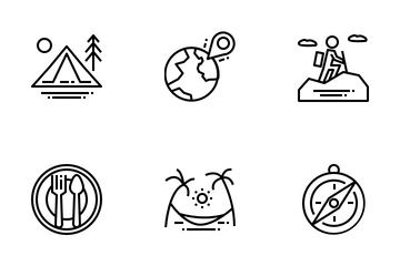 Travel And Activities Icon Pack
