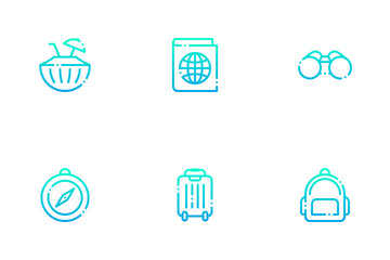 Travel And Adventure Icon Pack