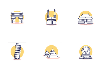 Travel And Destination Icon Pack