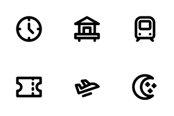 Travel And Hobby Icon Pack