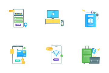 Travel And Holiday Icon Pack