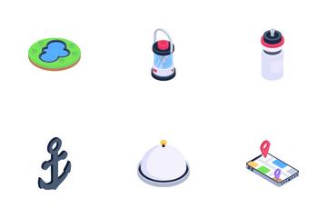 Travel And Outdoor Icon Pack