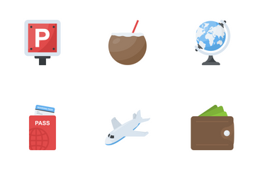 Travel And Places 1 Icon Pack