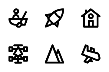 Travel And Places Icon Pack