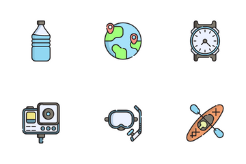 Travel And Tourism Icon Pack