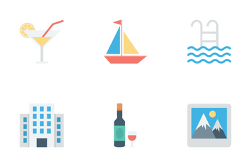 Travel And Tourism Icons Icon Pack