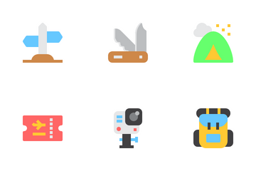 Travel And Vacation Icon Pack