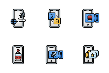 Travel App Icon Pack