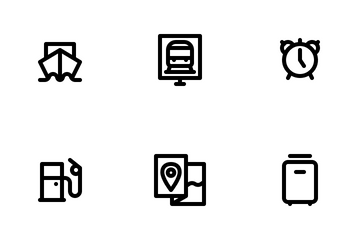 Travel Collection Icon Pack