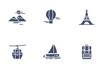 Travel & Destination Icon Pack