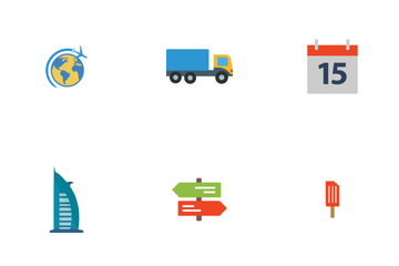 Travel Flat Icon Pack