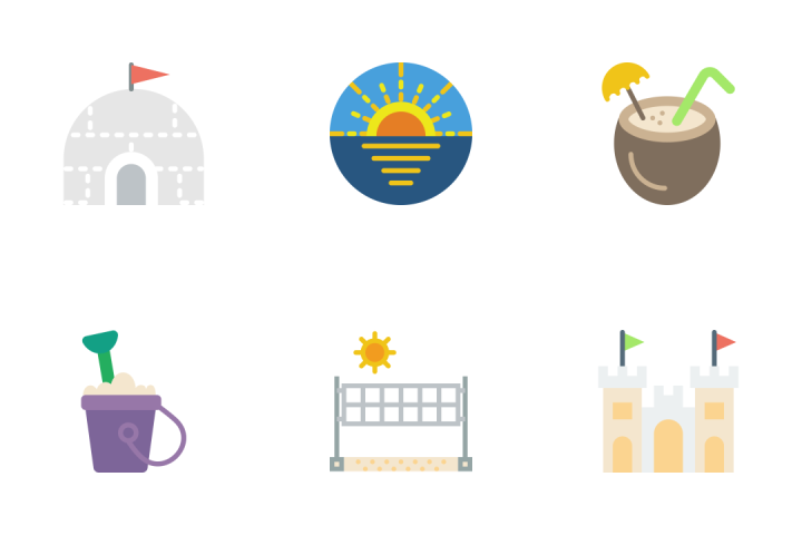 Travel - Flat Icon Pack