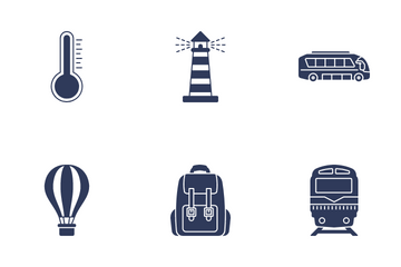 Travel & Holidays Icon Pack