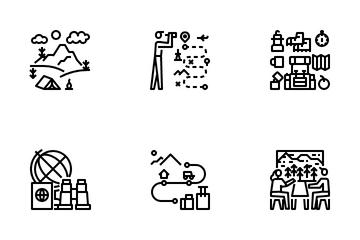 Travel Landscape Icon Pack