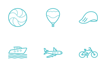 Travel Line Icon Icon Pack