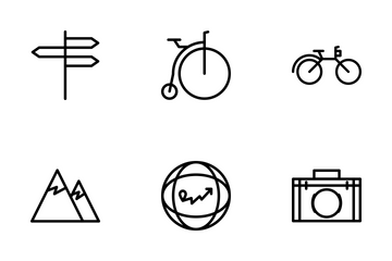 Travel Pack Icon Pack