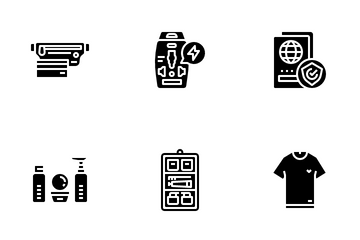 Travel Packing Icon Pack