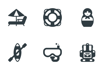 Travel & Tourism Icon Pack