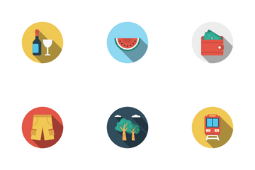 Travel & Tours Icon Pack