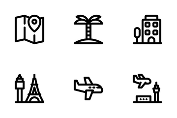 Travel Traveling Icon Pack