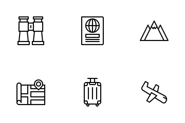 Travel & Vacation Icon Pack