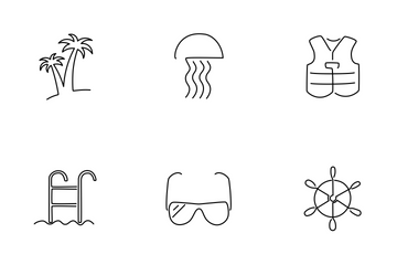 Travel (vacation) Icon Pack