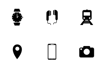 Traveling Icon Set Icon Pack