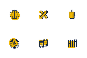 Traveling Needs Icon Pack