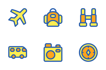 Traveling Set Icon Pack